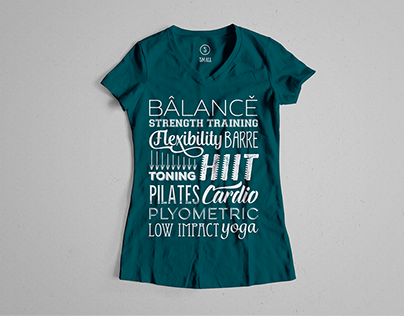 Graphic Design - Fitness T-Shirt
