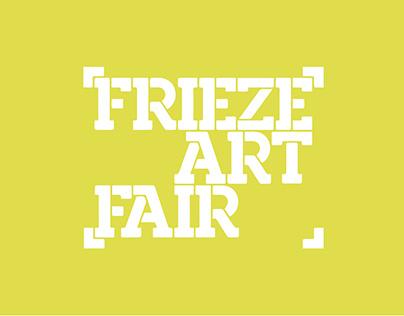 [WEB&UI/UX] Frieze: Art Fair