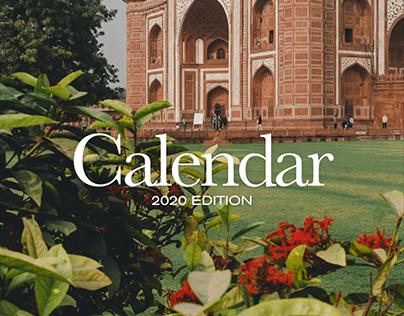 Calendar — 2020