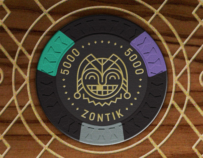 Zontik Games  - Aristocrat Poker Chip Set