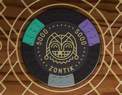 Zontik Games  - Aristocrat Poker Chip Set