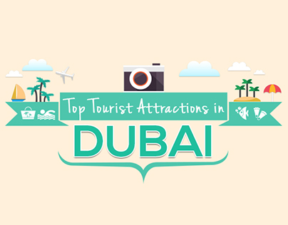 Top Tourists Attractions in Dubai -Infographic