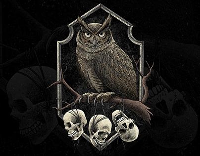 The Owl Illustration (artwork for sale)