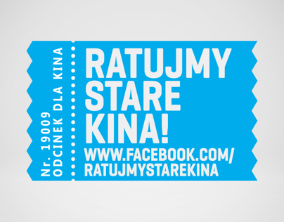 Ratujmy Stare Kina / Save the old cinemas Logo