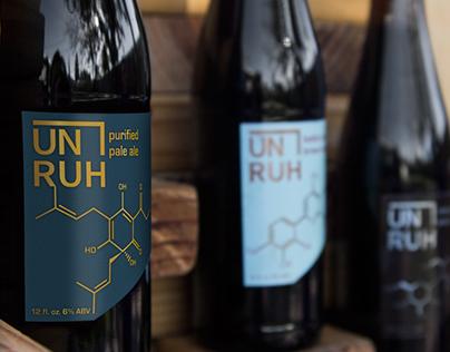 Unruh Brewery Beer Labels
