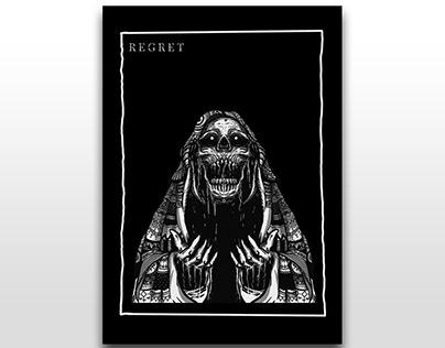 """Dark artwork """"regret"""""""