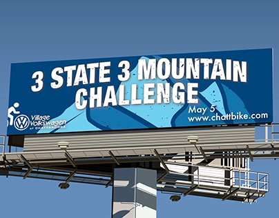 3 State 3 Mountain, Event Billboards
