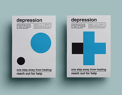 Depression / Poster Series