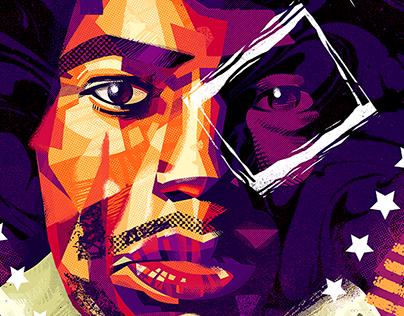 Jimmy Hendrix Portrait