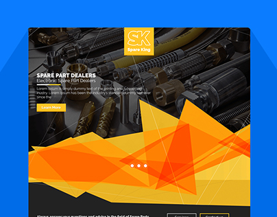 Spare King Web Design