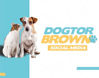 Dogtor Brown Social Media