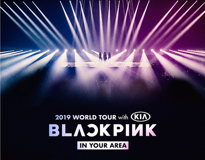 BLACKPINK 2019 WORLD TOUR OFFICIAL MD DESIGN