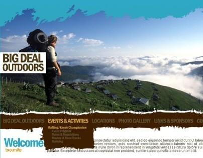 Big Deal Outdoors | Web Site