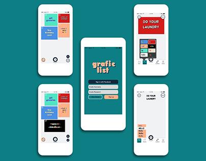 grafic list - To Do List App