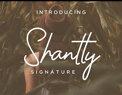 shantty signature font