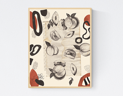 Illustrations for Cuadro Art Gallery