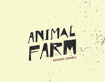 Animal Farm by George Orwell | BOOK COVER
