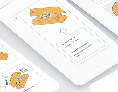 Visual & UX Design for Installation Guide