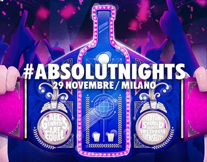 #AbsolutNights_Milano_2018