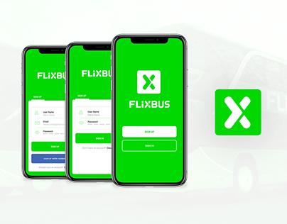 FLIXBUS_UI Concept App