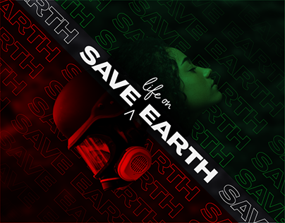 Save Life on Earth | Kinetic Typography Posters