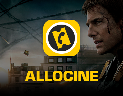 AlloCiné Official App redesign 2015 - iPad & Android