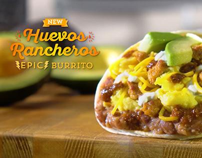 Del Taco Huevos Rancheros