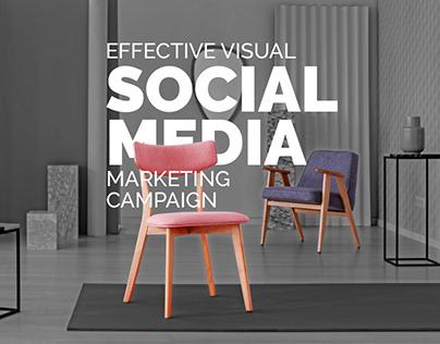 Social Media Creative Campaign - For Furniture Brand