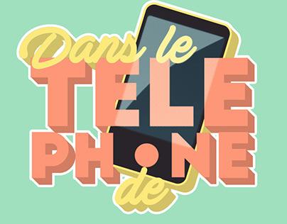 """""""Dans le Téléphone de""""(FranceTv Slash)"""