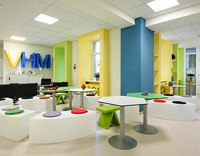 Vilniaus Humanistic school interior
