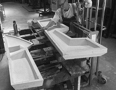 Uluru Sunrise - Cast Glass Sculpture Commission