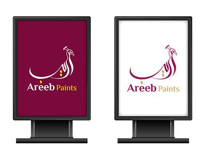 Areeb Paints brand identity