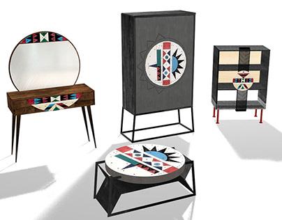 Zulu Furniture Collection. 2018