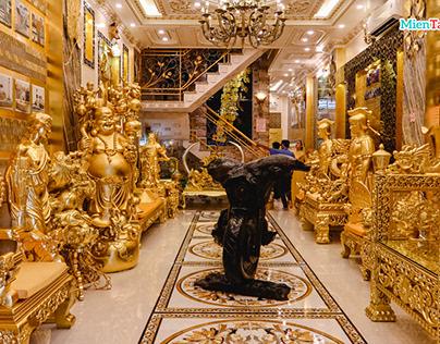 Ngôi nhà dát vàng Cần Thơ