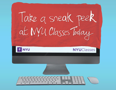 NYU Classes Promo Materials