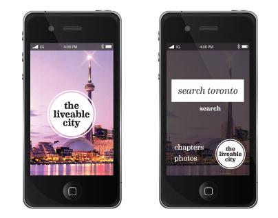 The Liveable City - Phone App
