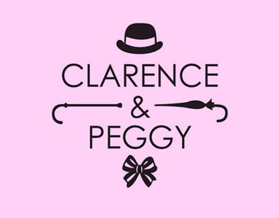 Clarence & Peggy - Branding
