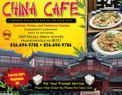 China Cafe Half Page Ad