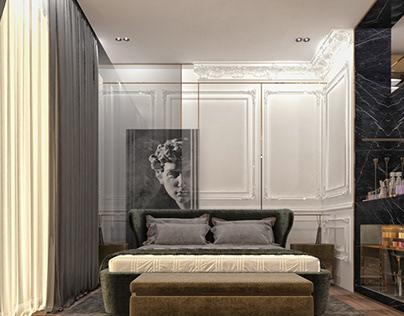 Greek Style Bedroom | Swanlake Villa Location: Cairo