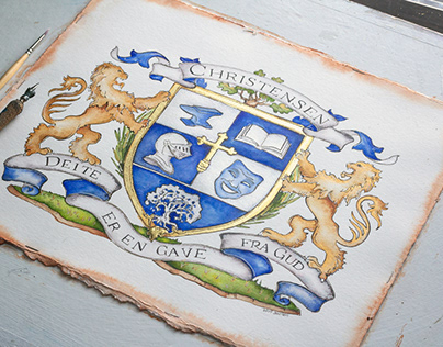 Christensen Family Crest