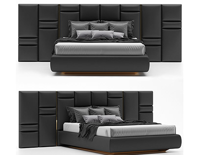 Luxxu Chateau Bed Design Luxury Style 3D model