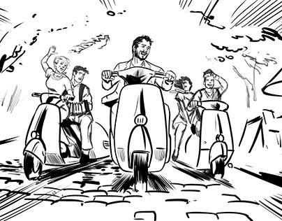 LA CRIANZA PIZZAS - Storyboard