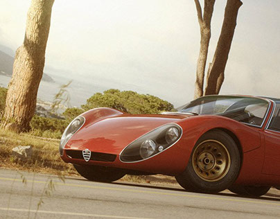 Alfa Romeo Tipo 33.2 Stradale