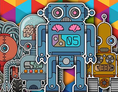 Pack of ROBOTS