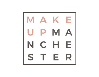 Make Up Manchester Brand Identity