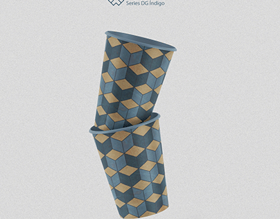 Pattern Series - DG índigo #03