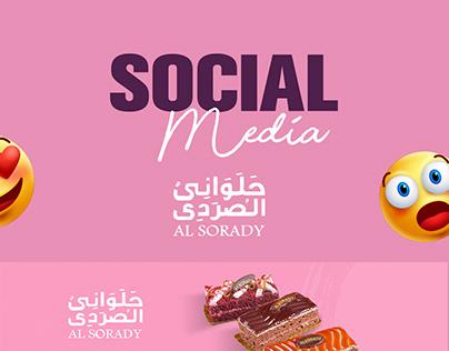 El-Sorady Pastry - Social Media Designs 2019