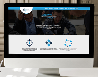 Executive Program - Event web page