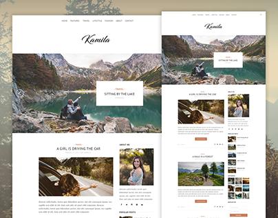 Kamila - Travel Blog Theme