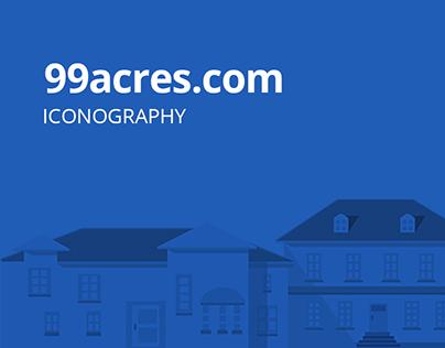 Iconography of 99acres.com